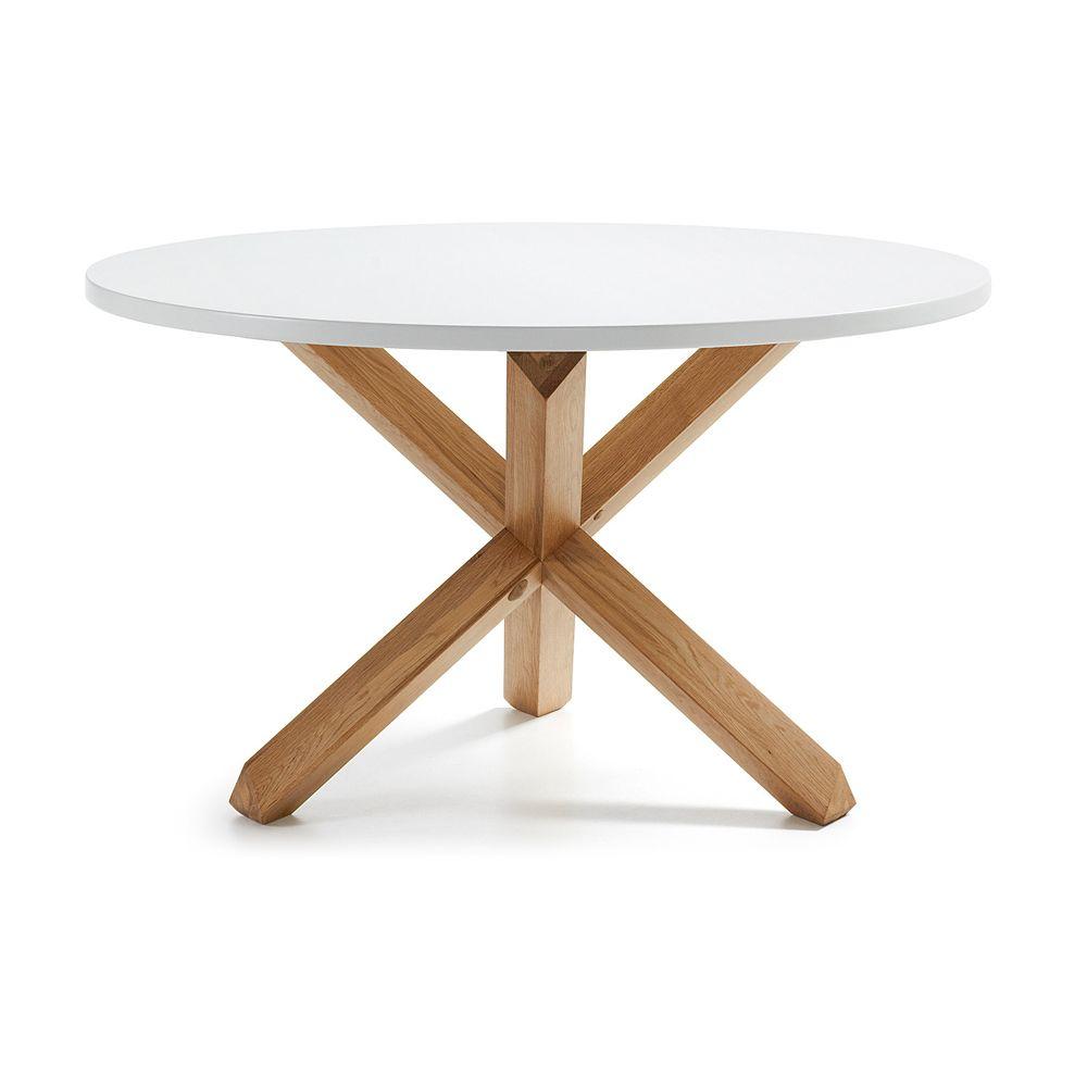 runder Esstisch Lola Holz, weißen Boden | Möbel | Pinterest | Runder ...
