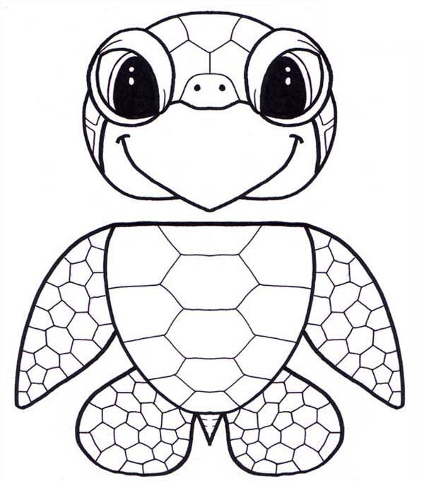 Sea Turtle Coloring Pages Paper Bag Puppets Turtle Coloring