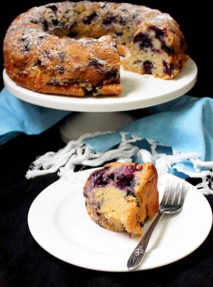 Vegan Blueberry Buttermilk Bundt Cake Recipe Vegan Blueberry Savoury Cake Recipes