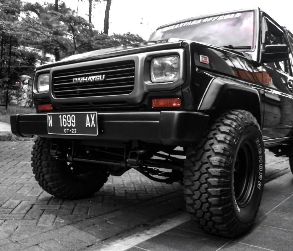 Daihatsu Rocky Fourtrak Rugger Build 4x4 4x4life Mudterrain