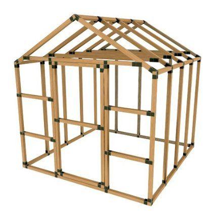 8X8 Basic Greenhouse Kit (frame, sans covering)  | Garden
