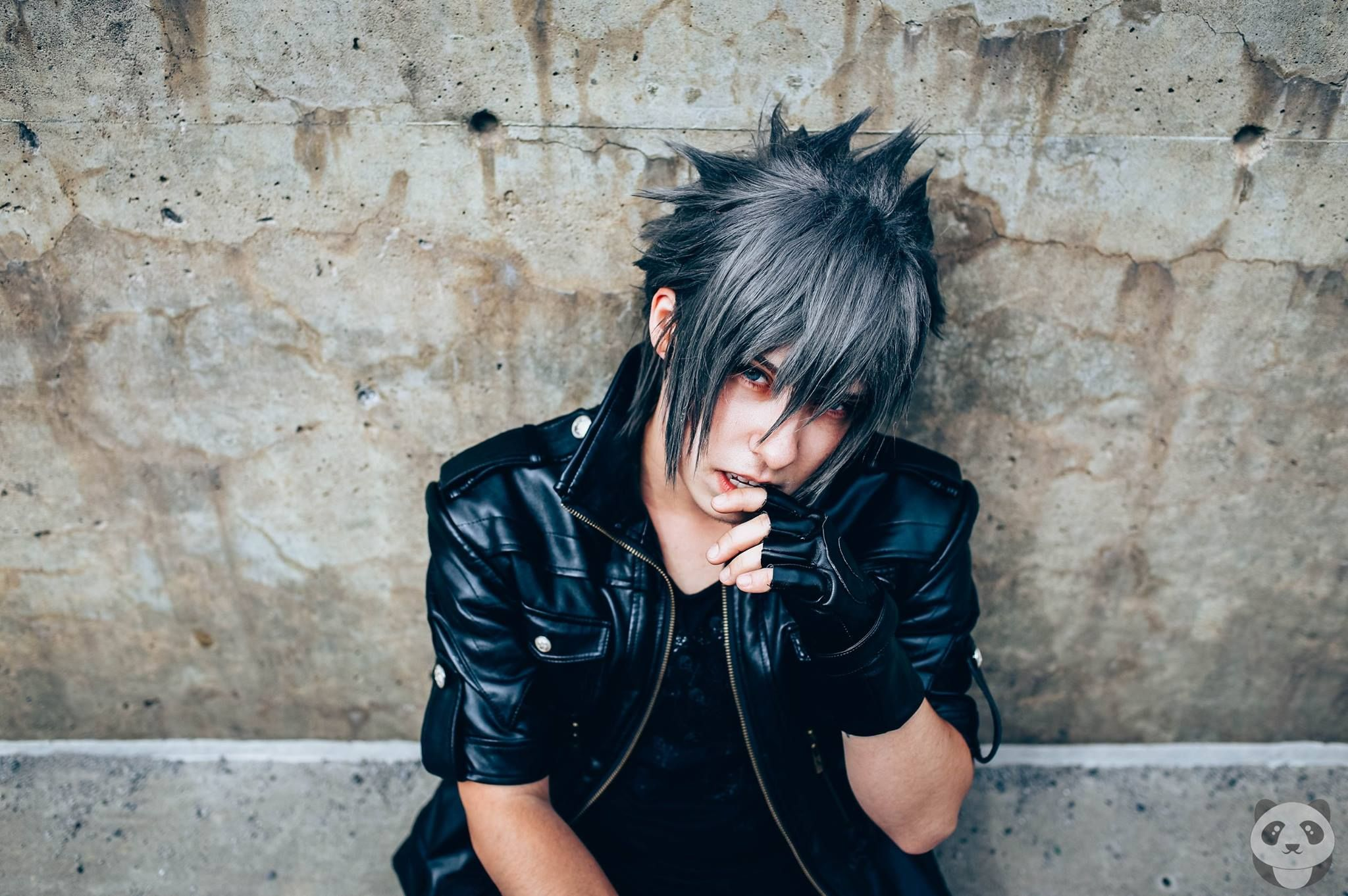 Noctis from Final Fantasy  https://www.facebook.com/pandastudiomontreal/photos/a.1762273567352187.1073741867.1567678463478366/1762319754014235/?type=3&theater