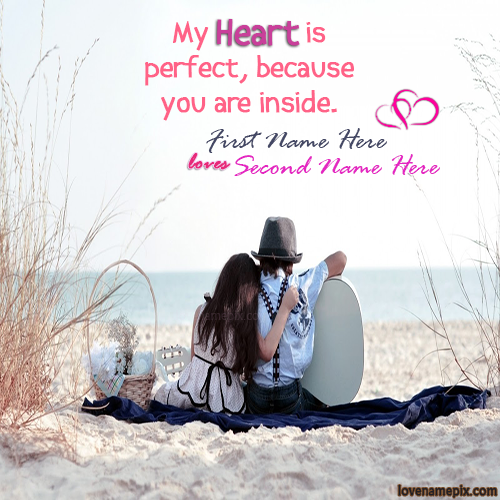Write couple name on Beautiful cute Romantic Kids Couple ...