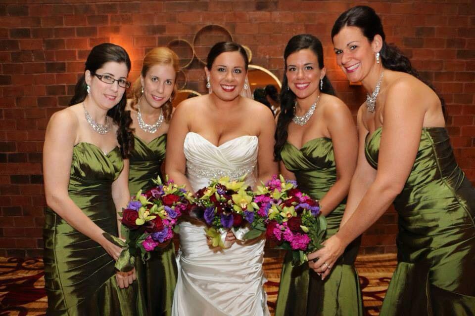 Dark Olive Bridesmaid Dresses