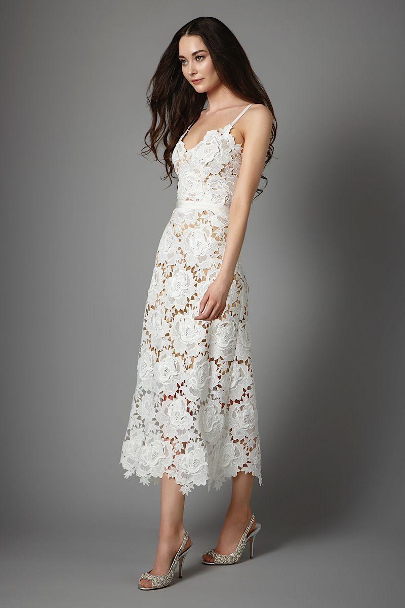Frida wedding dress, Catherine Deane #weddingdress #lace #short