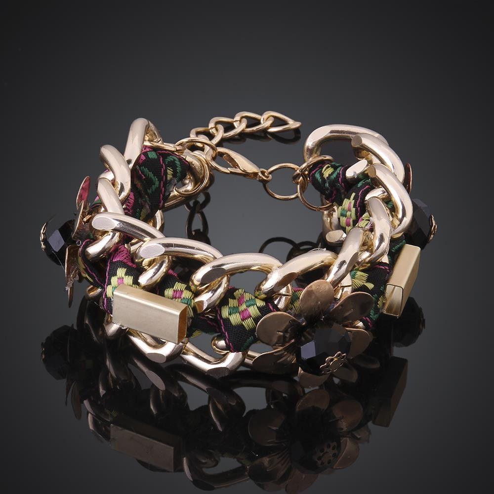 New style fashion bracelet handmade shiny women crystal bracelet