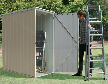absco ezislim is the newest slim storage shed on the market - Garden Sheds Vic
