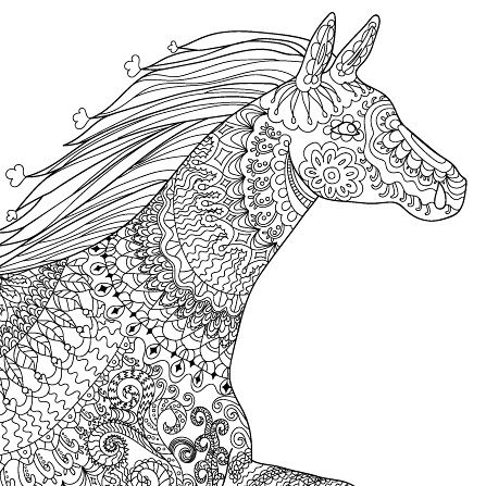 Horses Running Free Tumblr Coloring Pages Coloring