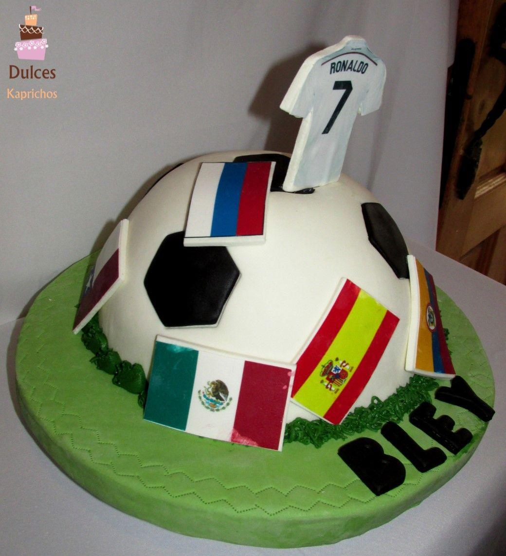 Torta Futbol Tortafutbol Tortasdecoradas Dulceskaprichos