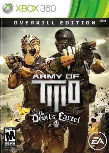Army Of Two Devil S Cartel Overkill Edition Xbox 360 Game