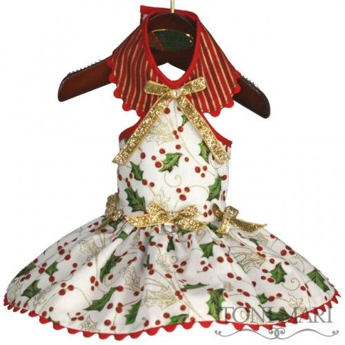 HolidayJunipers Dog Dress