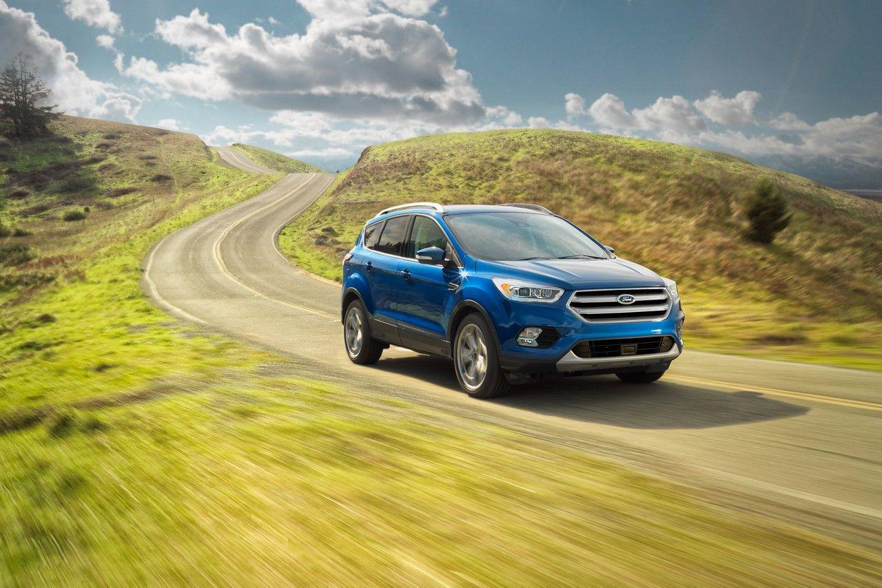 2017 Ford Escape Titanium in Lightning Blue Ford escape