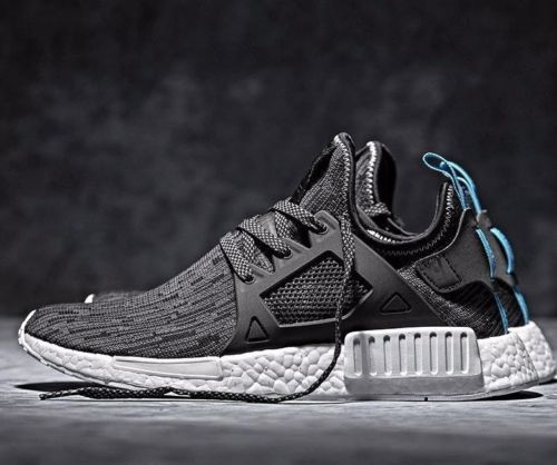 AdidasNMD XR 1 glitch black reflective