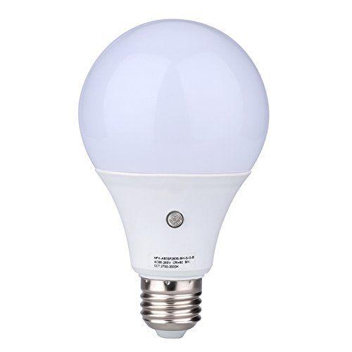 E27 Led Dusk To Dawn Sensor Light Bulbs Builtin Photosensor Detection Auto Switch Light Indooroutdoor Lighting Lamp For Porch Hall Led Bulb Led Light Lamp Bulb