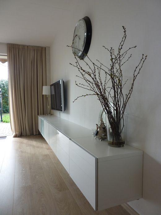 zwevende tv kast interieur pinterest wohnzimmer m bel wohnzimmer und ikea wohnzimmer. Black Bedroom Furniture Sets. Home Design Ideas