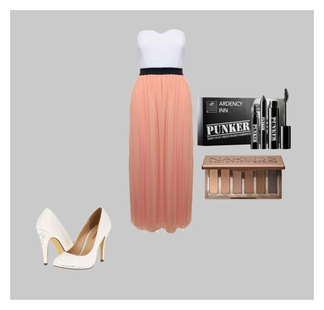 """""""feeling pretty"""" by comfy-styles ❤ liked on Polyvore featuring Michael Antonio, Urban Decay and Ardency Inn"""