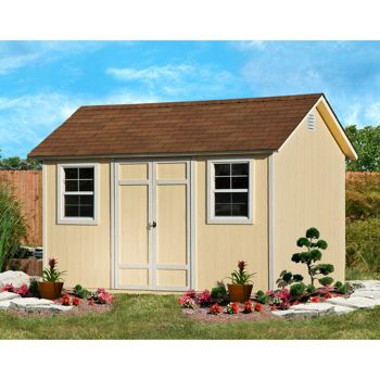 Garden Sheds 12x8 costco: wilmington 12' x 8' wood storage shed future art studio
