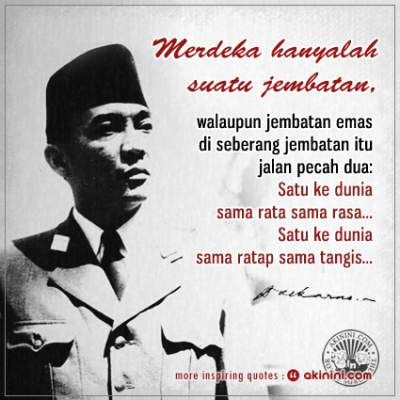 24 Kata Bijak Mutiara Soekarno Terbaik Kutipan Indonesia Motivasi Kutipan Lucu