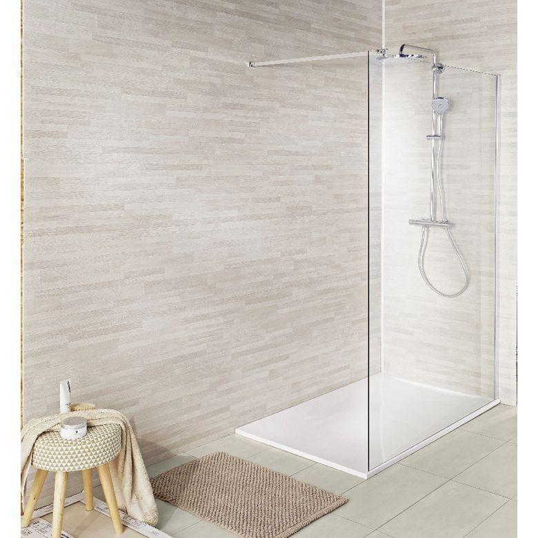 Lambris PVC Ever Wood chêne blanchi - Salle de bains Idées pour la
