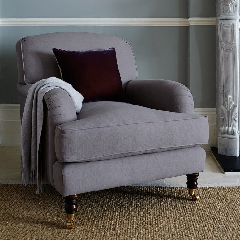 Captivating Osbourne Occasional Armchair   Grey