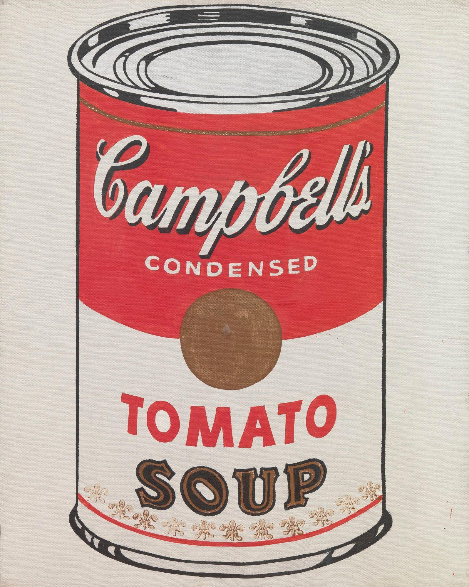 Pin By Josef Bouska On Pop Art Warhol Campbell S Soup Cans Warhol Pop Art Movement