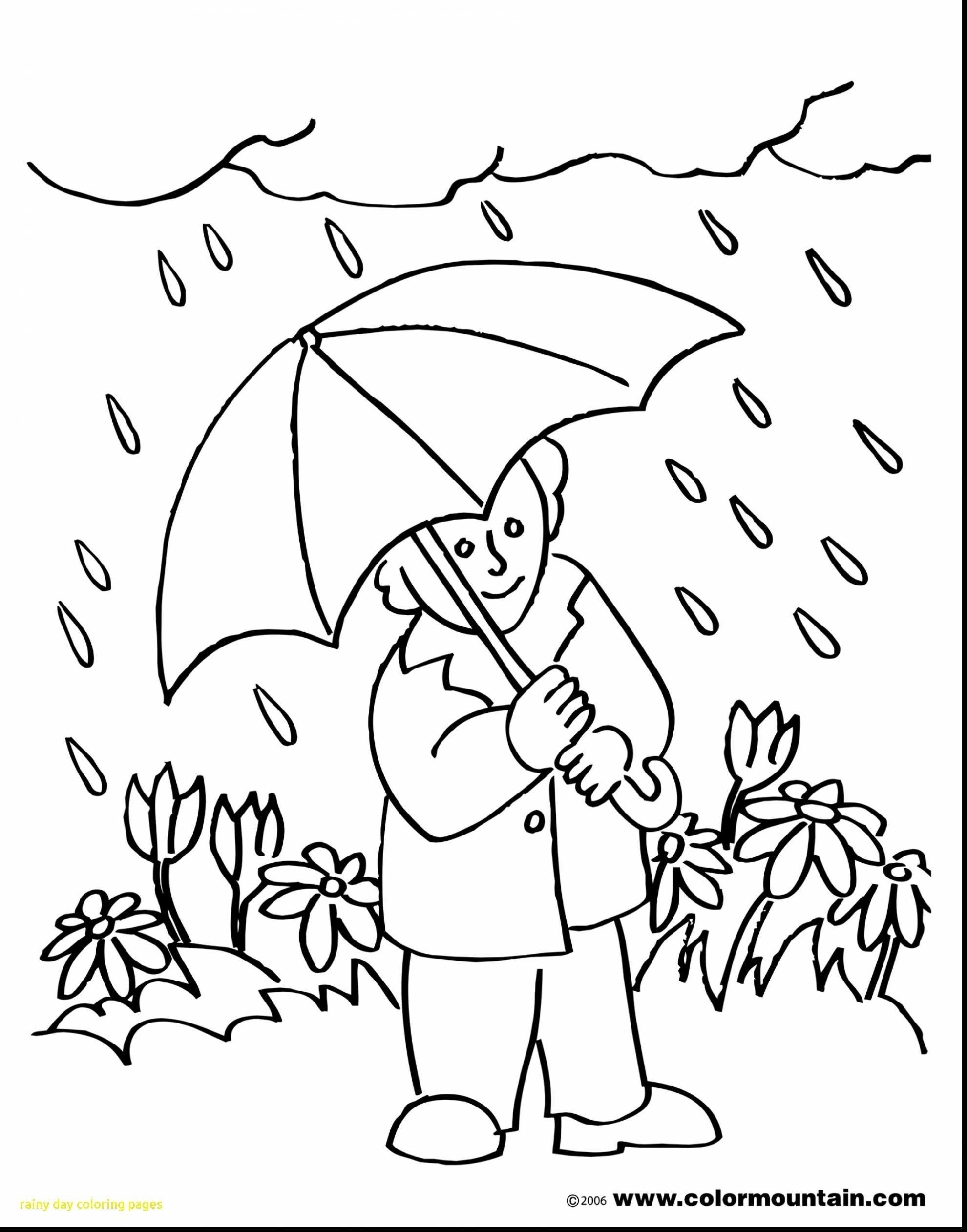 25 Wonderful Picture Of Rainy Day Coloring Pages Unicorn