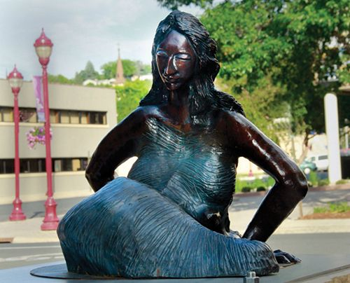 20. Tranquil     SHOHINI GHOSH   •   COLORADO     Bronze     Tranquil is a sculpture of a seated mermaid being in contemplative thought with a tranquil expression of inner peace. Signifying a calmness and peace with one's self in the face of her differences.     Sell Price: $5,000