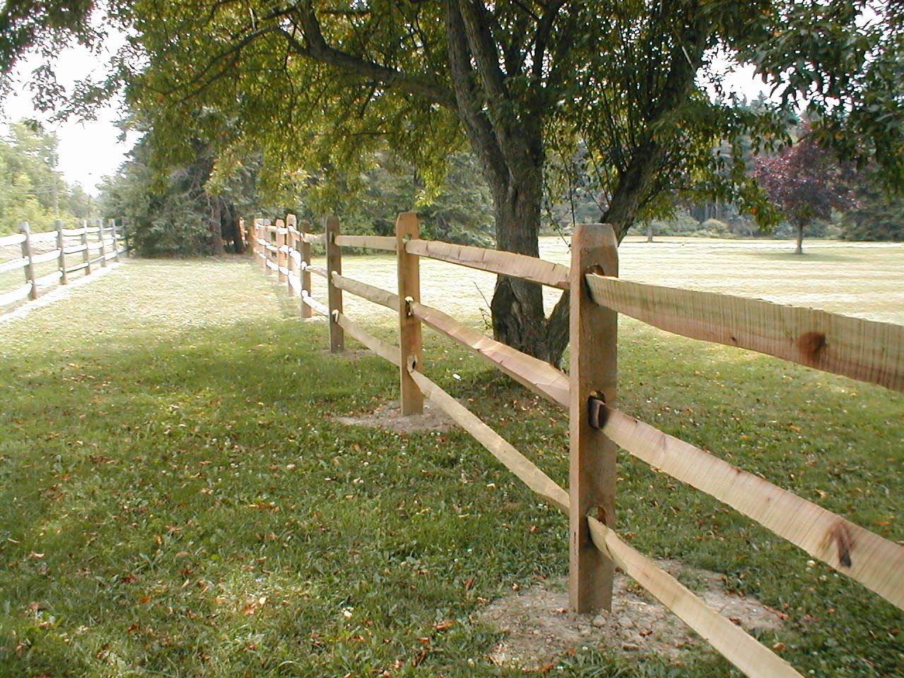 Fence Ideas Split Rail Amp Kentucky Board Simpson Fence