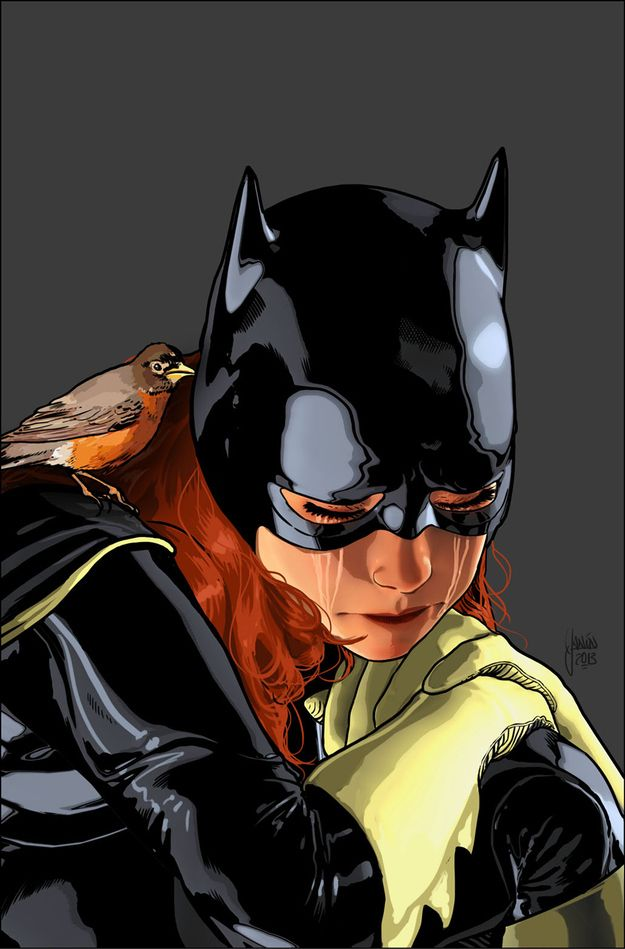 BATGIRL #18 | Exclusive! The DC Universe Reacts To Robin's Shocking Death. Art by •Mikal Janin