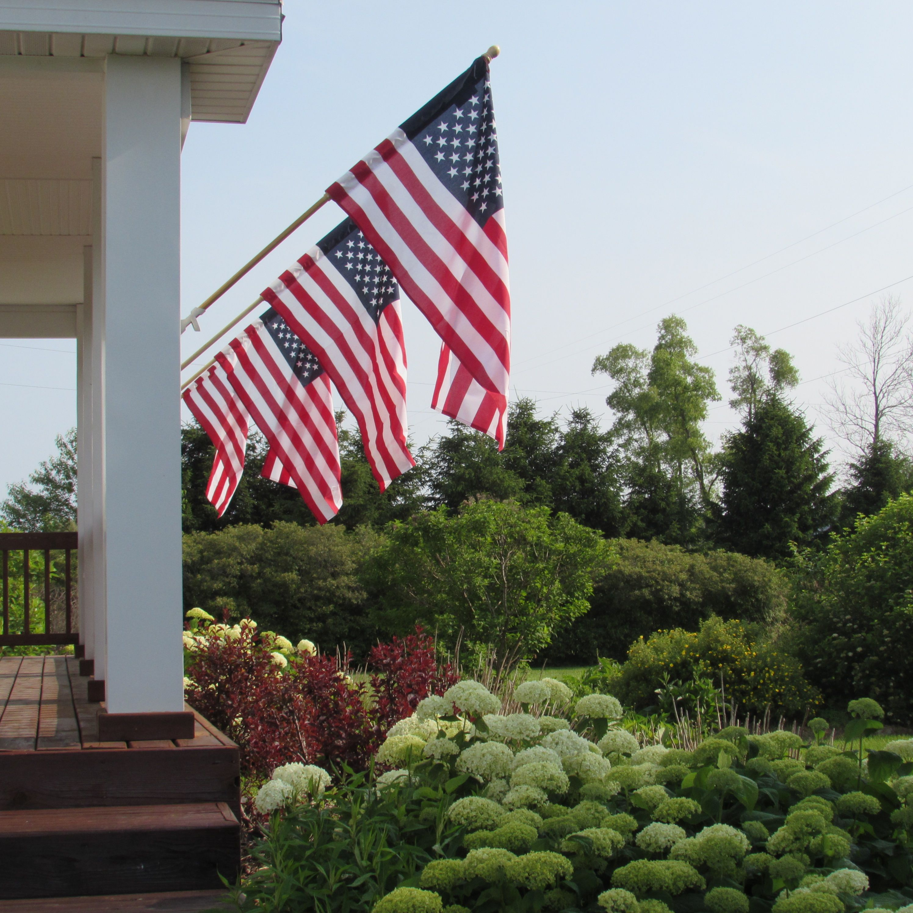 The Worlds Largest Free Flying American Flag Unfurls On The George