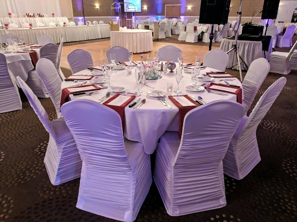 White Chair Covers For Wedding Reception On 6 10 2017