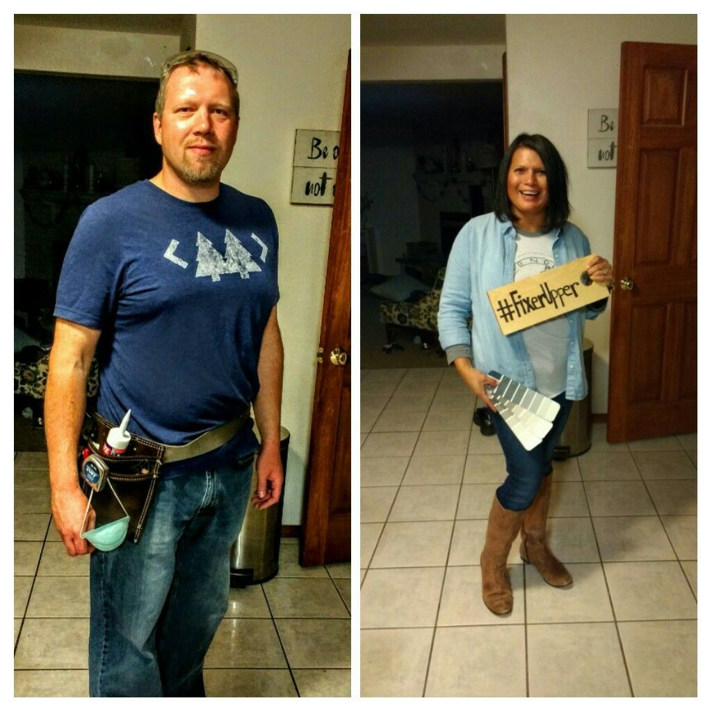 Chip joanna gaines fixer upper halloween costume for Chip and joanna gaines kids birthdays