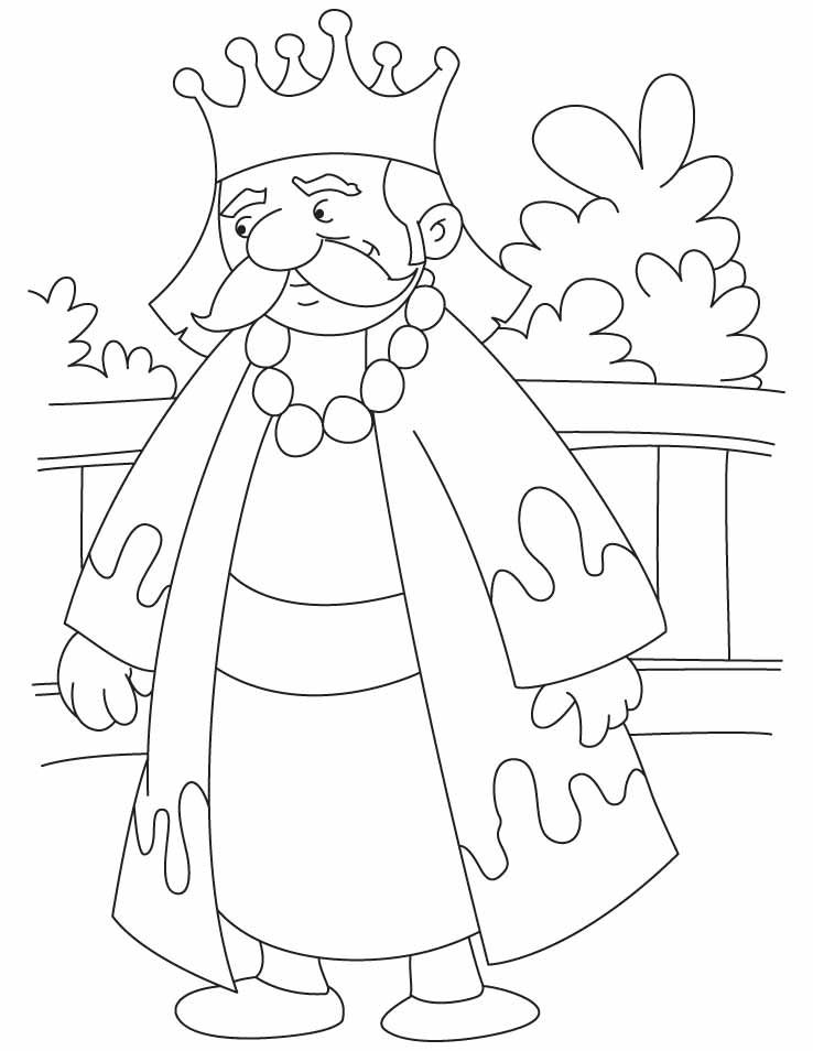 A great king akbar coloring pages King drawing, Coloring