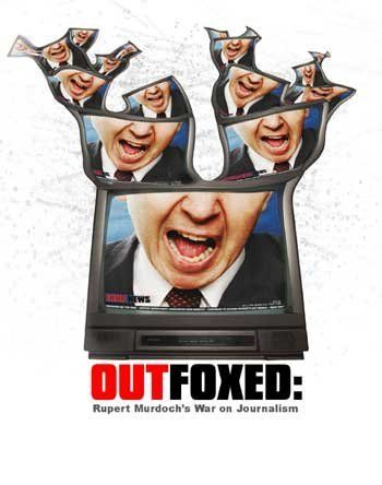 """Documentary on reported Conservative bias of the Rupert Murdoch-owned Fox News Channel (FNC), which promotes itself as """"Fair and Balanced"""". Material includes interviews with former FNC employees and the inter-office memos they provided. (75 mins.)"""