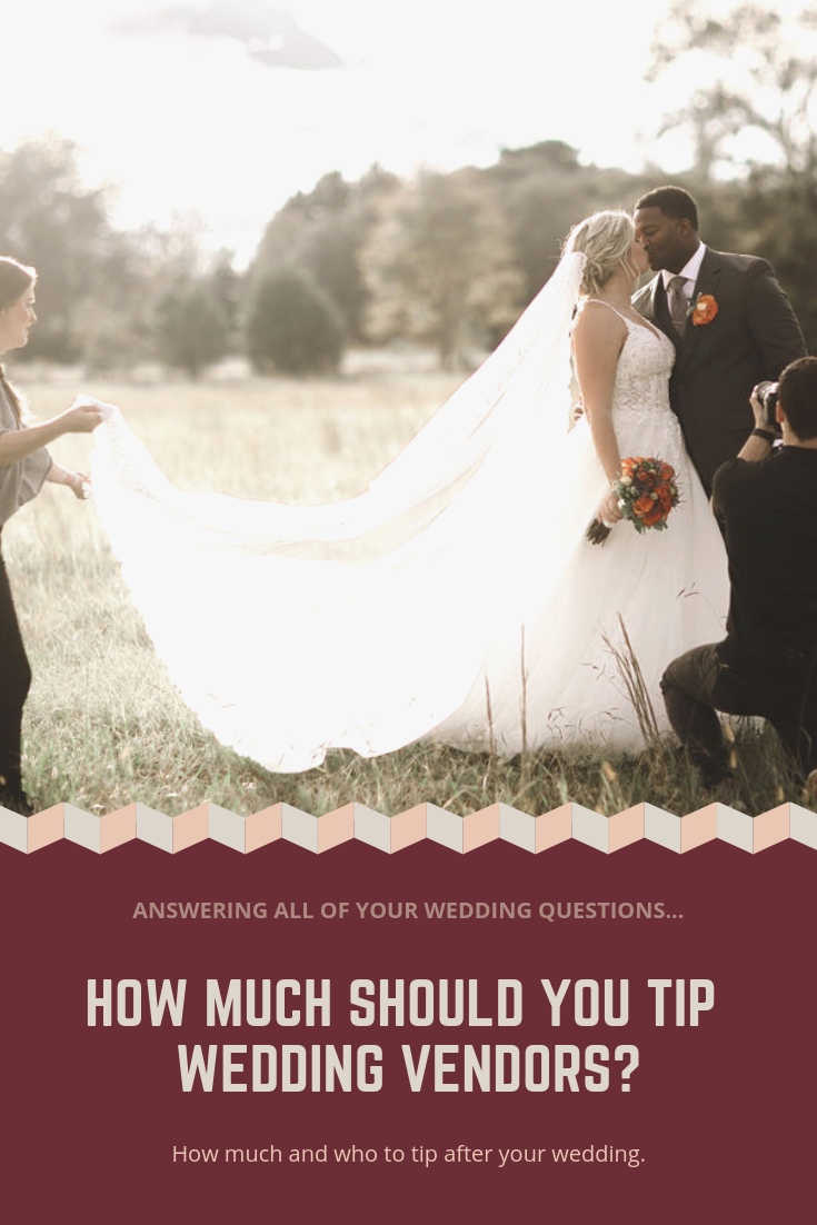 How Much To Tip Wedding Vendors.Tipping Wedding Vendors Real Weddings Wedding Inspiration