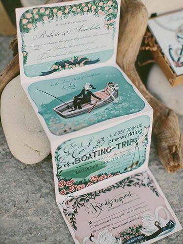 Mira cinco propuestas de invitaciones que pondrán a trabajar tu - invitaciones para boda originales