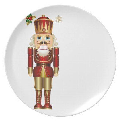 Holiday Plastic Plate-Nutcracker Melamine Plate  sc 1 st  Pinterest & Holiday Plastic Plate-Nutcracker Melamine Plate | Plastic plates