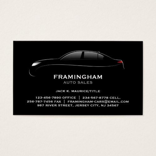 Auto sale bold business card auto sales business cards and business auto sale bold business card reheart Choice Image