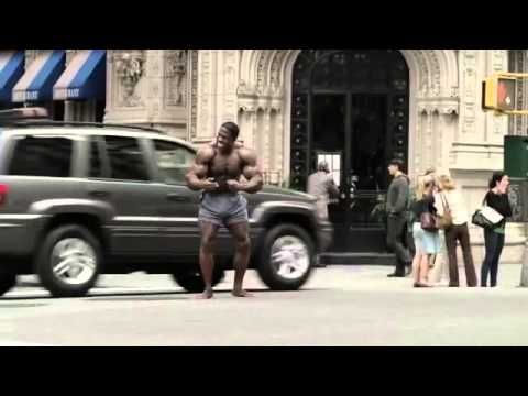 GEICO Bodybuilder Commercial   Happier Than a Body Builder Directing Tra...