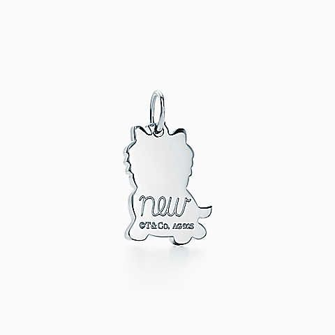 b3c561ed9 Tiffany Charms New Yorkie charm in sterling silver.   I love it ...