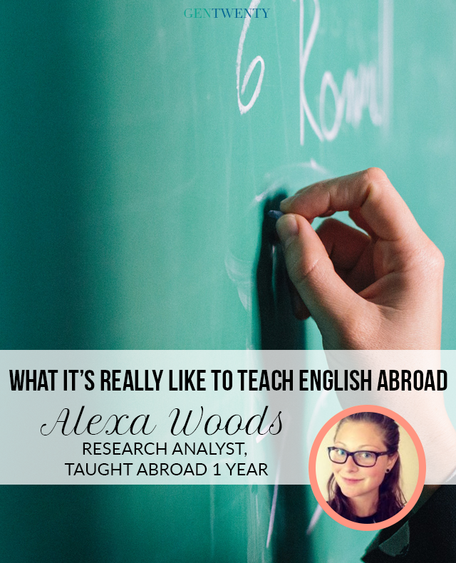 An Inside Look into What It's Really Like to Teach English Abroad