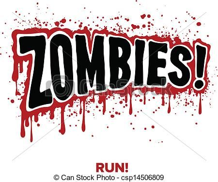 Vector Clipart Of Zombie Text Zombies Text Lettering Illustration Comic Csp14506809 Search Clip Art Illustration Drawings Zombie Zombie Text Clip Art