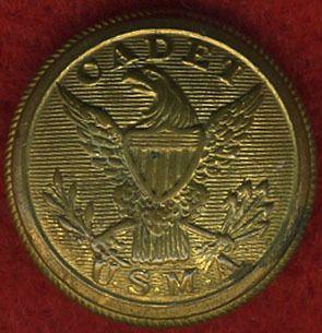 Civil War West Point Cadet Uniform Button History War Civil War