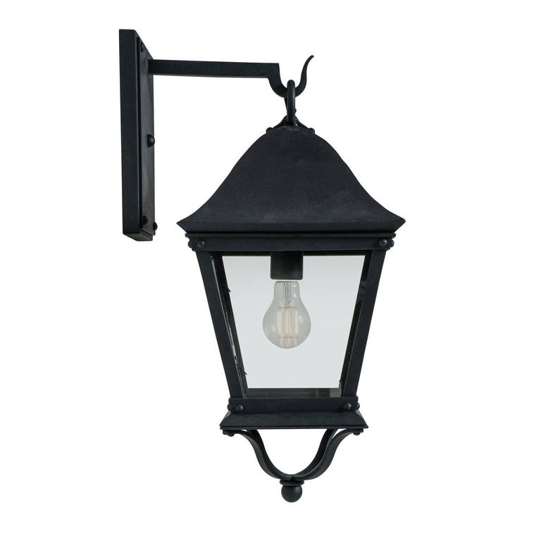 Classic Spanish Colonial Exterior Outdoor Wrought Iron Wall Sconce Grey In 2021 Iron Wall Sconces Wall Sconce Lantern Wrought Iron