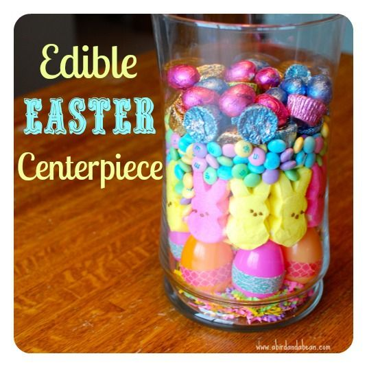Easter Candy Centerpiece Sweets And Treats Candy Centerpieces