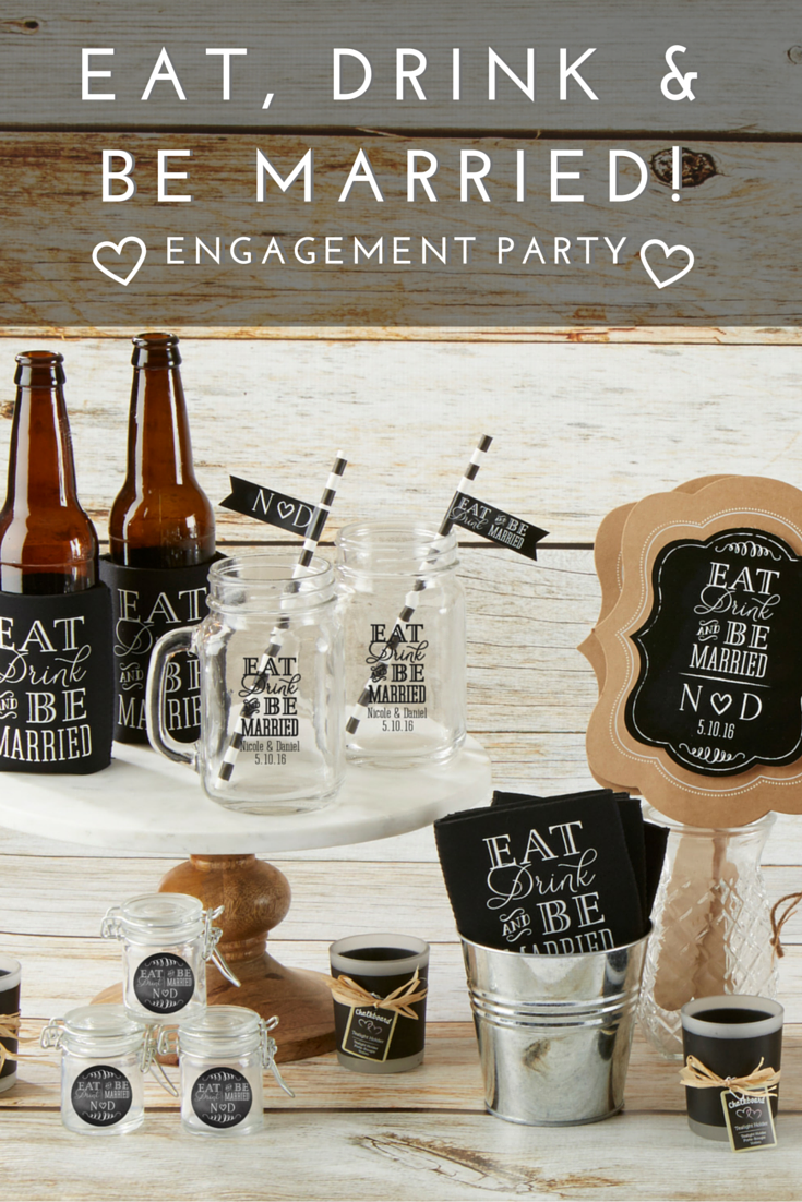 Eat, drink, and be married! Celebrate your upcoming wedding with ...