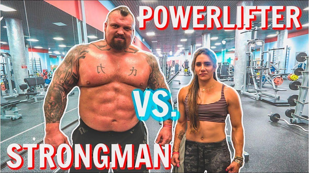 Strongman Vs Powerlifter Ft Stefi Cohen Youtube In 2021 Strongman World S Strongest Man Powerlifting Men