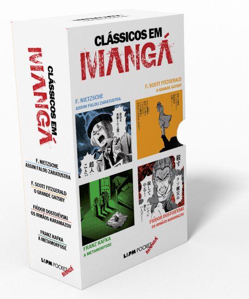 CAIXA ESPECIAL CLÁSSICOS EM MANGÁ - - L&PM Pocket - A maior coleção de livros de bolso do Brasil