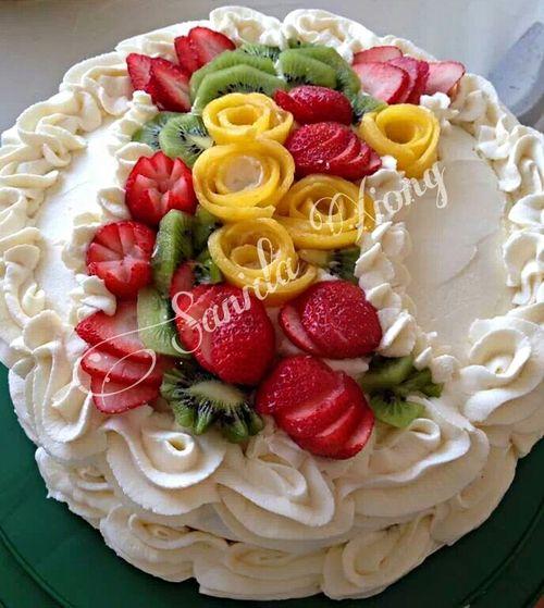Pandanus Sponge Cake