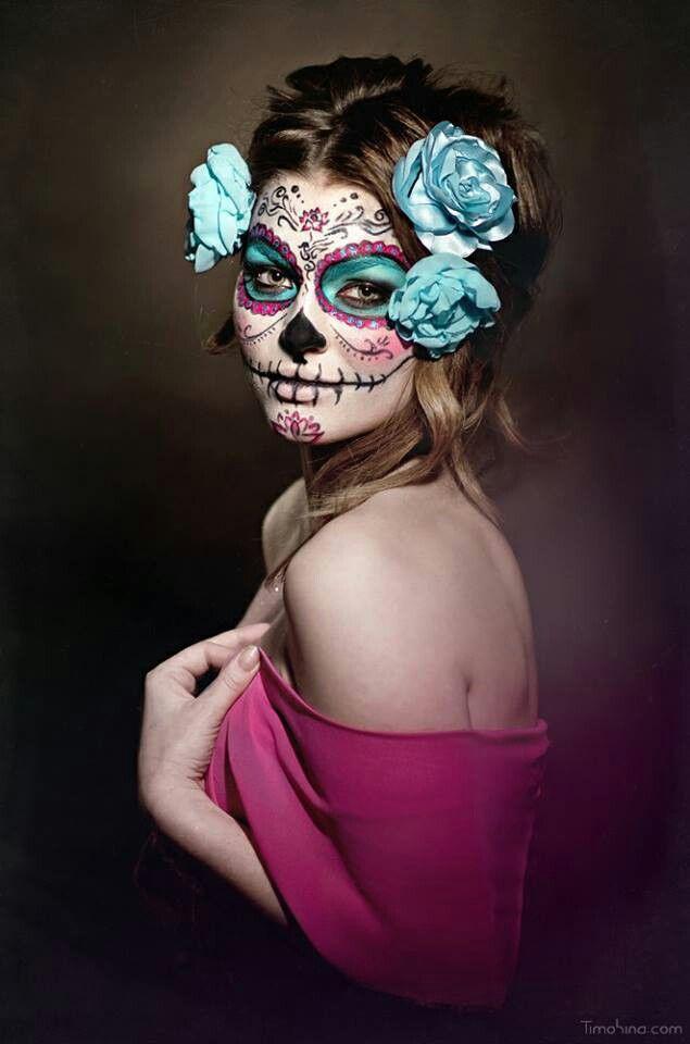 Dia de Los Muertos | Maquillage enfant | Halloween Makeup ...